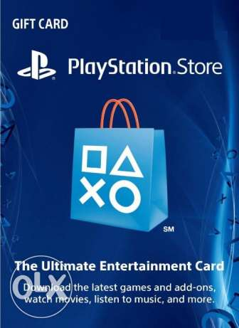 Cards for iTunes - PlayStation Network - Xbox live - Nintendo eshop