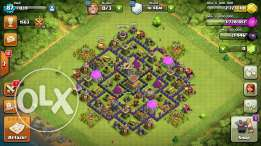 Account coc th8 max lal be3 aw tbdeel m3 th9 max