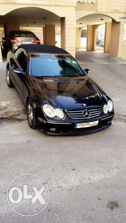 clk 500 clean car