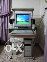 Computer with Table 200GB RAM 1,25GB