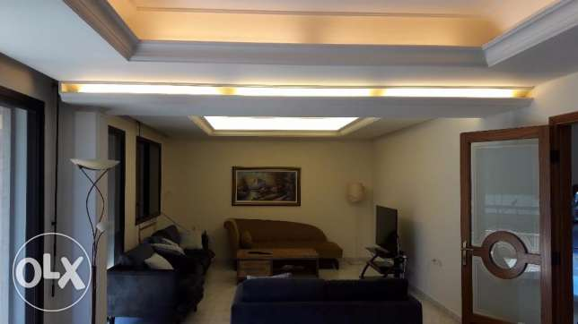 A 217 sqm lovely furnished apartment for rent in Achrafieh (Sassine)