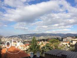 Bikfaya, 160m2, //$140.000//, panoramic sea & mountain view