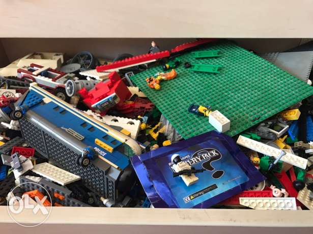 a lot of Lego (expensive legos