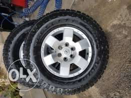 Fj Tires and Rims