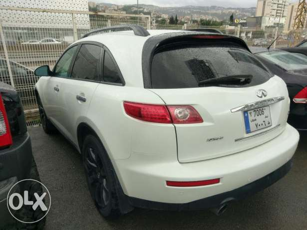 Infiniti fx35 sport package clean carfax 135000 miles انطلياس -  4