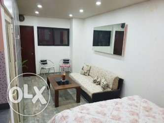 For rent furnished studio apartment in New Rawda Dekwaneh