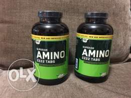 superior amino 2222 tabs. BY: optimum labs