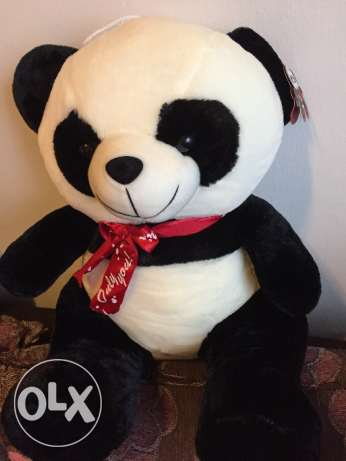 Valentines panda bear big new