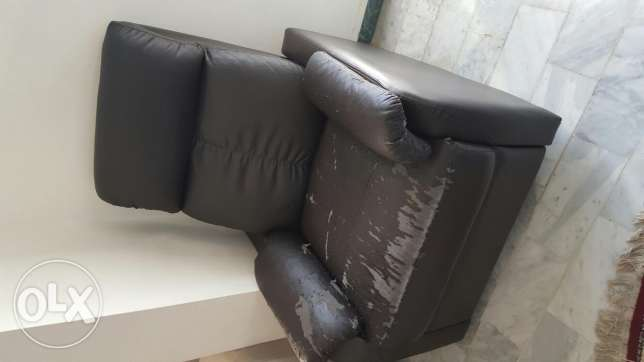 Comfortable sofa and can be opened