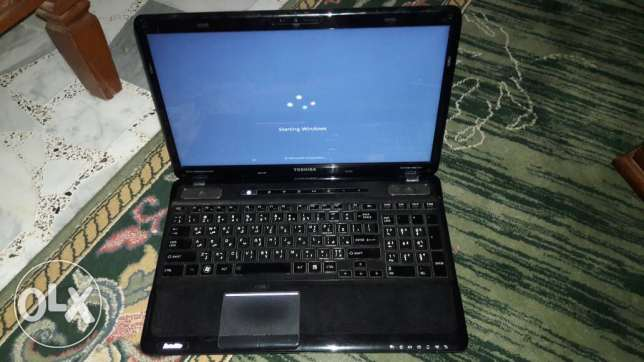Toshiba laptop in very good condition with ssd for sale