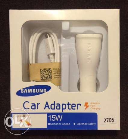 Samsung Car Charger (With Cable) غازير -  1