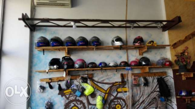 Atvs helmets and accessories