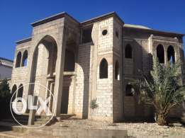 Villa under construction for sale in Fatqa