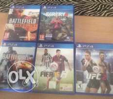 UFC 2, bfh, fifa 15 for sale