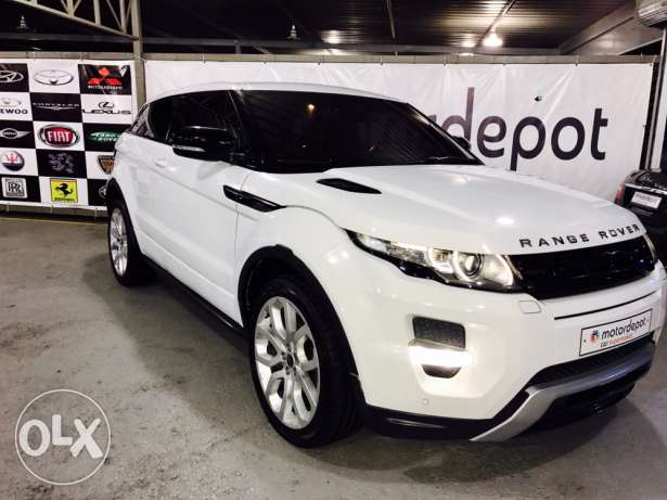 RangeRover Evoque COUPE Daynamic PLUS