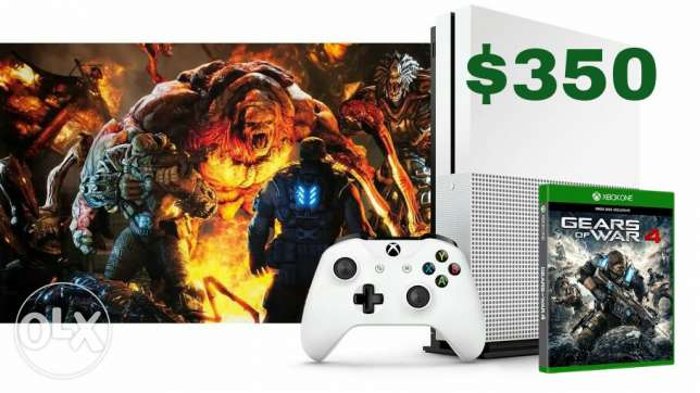 Xbox one s one tera with game