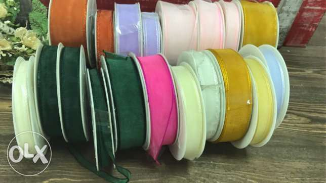 Ribbons stock available around 3000 pieces