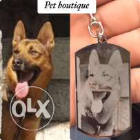 customize or print your pets tag