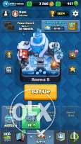 Clash Royale Account Level 9 Arena 8