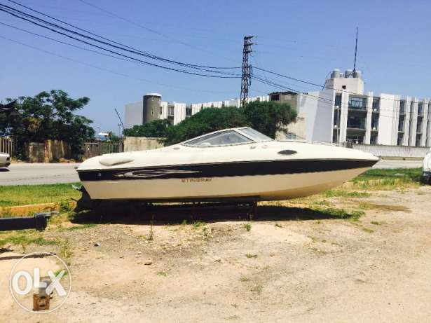 Boat Stingray almost brand new year 2008 $18000