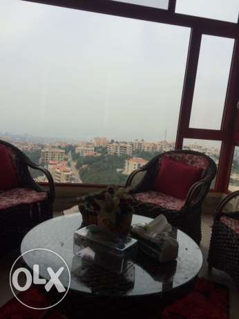 Furnished Apartment For Sale In Bchamoun Al Madares شقة بشامون المدارس