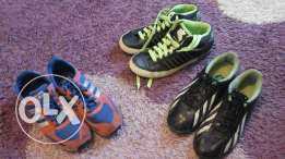 3 shoes like new for sale
