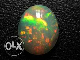 Pair of natural opal