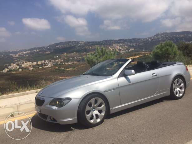 BMW 645 coupe 2004