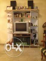 Vitrine for Kitchen and vitrine with TV for sale