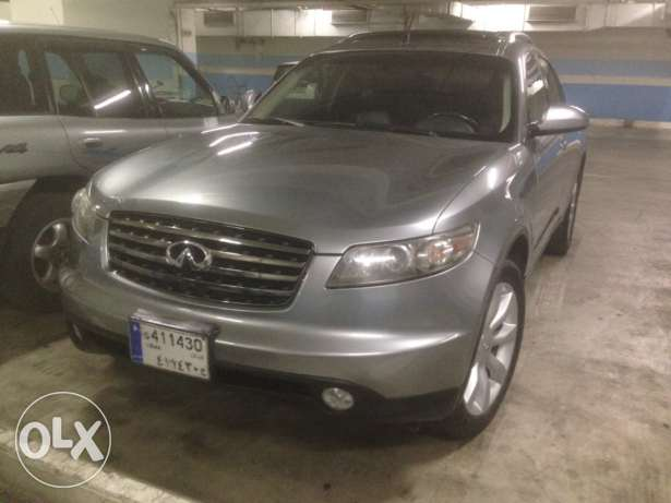 infiniti fx35 full option 2005
