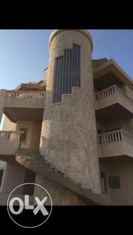 villa duplex with ground floor for sale