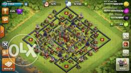 Th10 clash of clans account