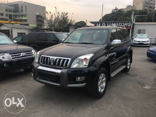 Toyota Prado VX 2009 Black Fully Loaded in Excellent Condition! بوشرية -  3