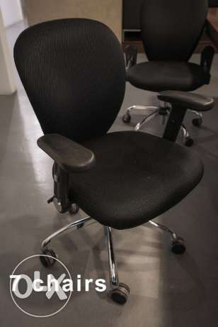 19 Office Chairs (Various Designs)