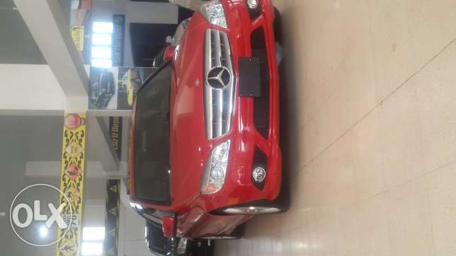 C300,2010,AMG KIT,navigation system, ,red/black leather,large screen النبطية -  1