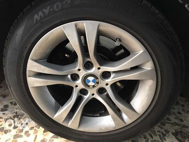 1 original rim 16 with its tire in excellent condition