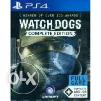 Watch Dogs Complete Edition PS4 Brand New Sealed (makhtoume)