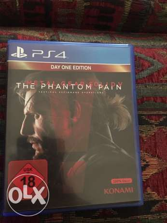 metal gear solid 5 for ps4