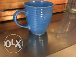 9 blue mugs for cheap sale