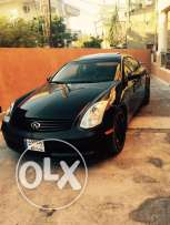 For sale or trade Infiniti G35 Model 2005 Balck Exanon Jant Dwalid jd