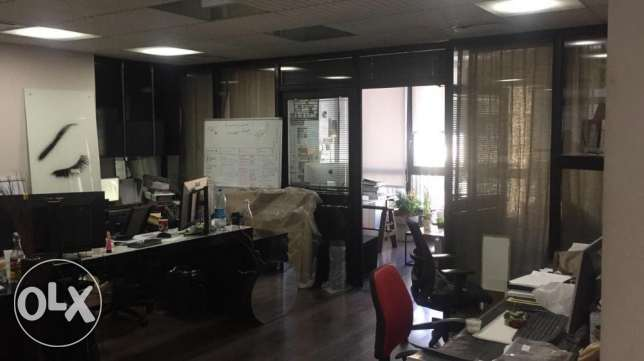 130 m2 Office for Sale - Jemayzeh - Above the Subaru Showroom