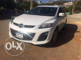 Mazda CX7 2010 Pearly White In Black
