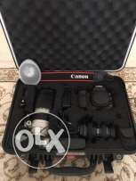 Canon 5D Mark III with Lenses