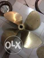 new 4 blade propellers (pair)