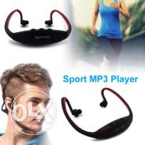 Portable Headphone Sport MP3 Player with TF Card Headset