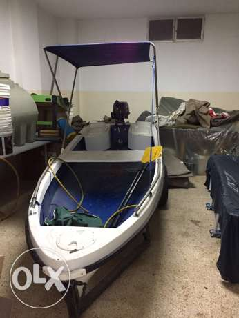 Boat Body and motor New never used yet