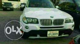 Bmw X3 3.0si full options 2008 ajnabieh very clean new arrival