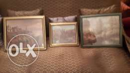 Three beautiful pictures only at 15$