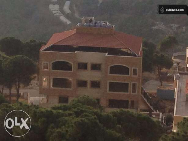 Furnished 2 bedrooms apartment with garden for rent in DAYCHOUNIEH