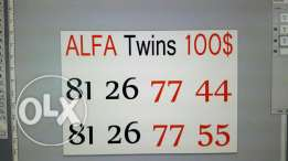 Alfa twins for 100$ only